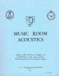 music, room and acoustics